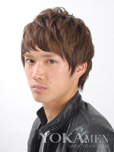 春季日本发型潮流发型主打小a发型-女生-临海新帅气超短发男士彩漫图片